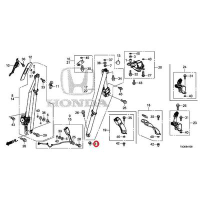 [NEW] JDM HONDA FIT HYBRID GP5 Plug, conditioners Day to donors (for the left) 91627-SLJ-003 GENUINE OEM