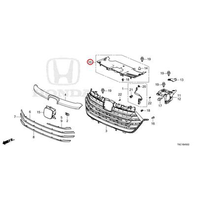 [NEW] JDM HONDA ODYSSEY eHEV RC4 Cover, front grill 71129-T6A-Z00 GENUINE OEM