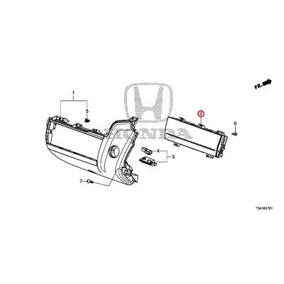 [NEW] JDM HONDA FIT GK5 Switch assembly., Auto air conditioner (Comfort View Package) 79602-T5A-J51 GENUINE OEM