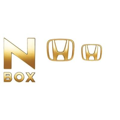 [NEW] JDM Honda N-BOX JF3/4 Gold Emblem Genuine OEM