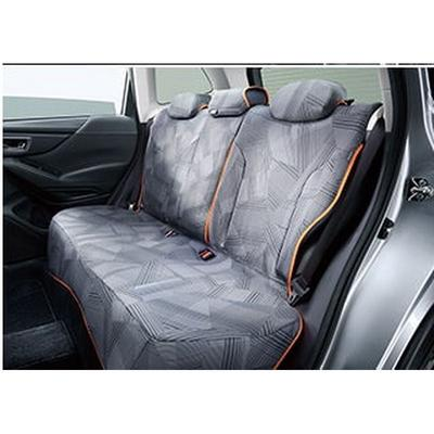 [NEW] JDM Subaru FORESTER SK All Wather Seat Cover Striped For rear Genuine OEM