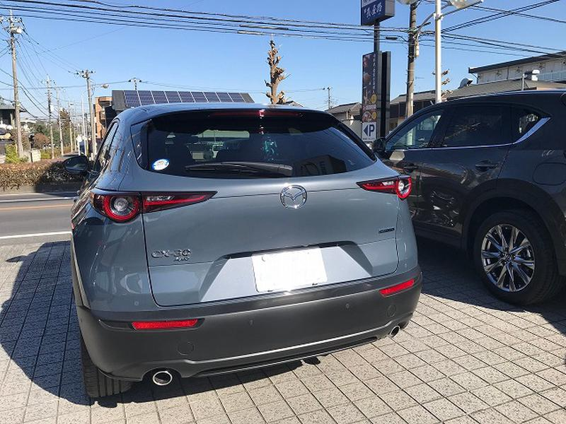 NEW Model JDM Japan Mazda CX-30 2021 Rear Exterior