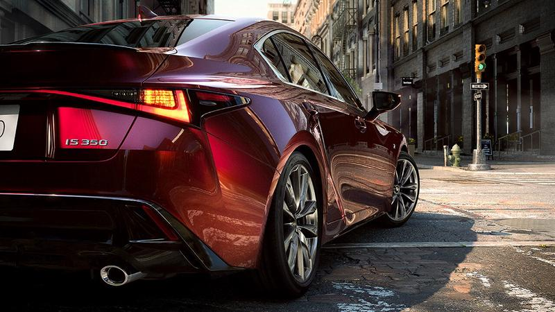 NEW Lexus IS Styling Coupe Look